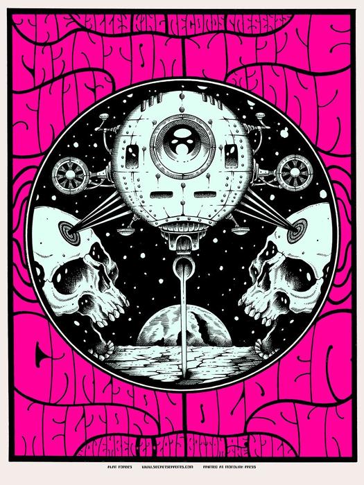 Alan Forbes buy street art screenprint poster silkscreen siebdruck concertposter poster prints art prints rock art