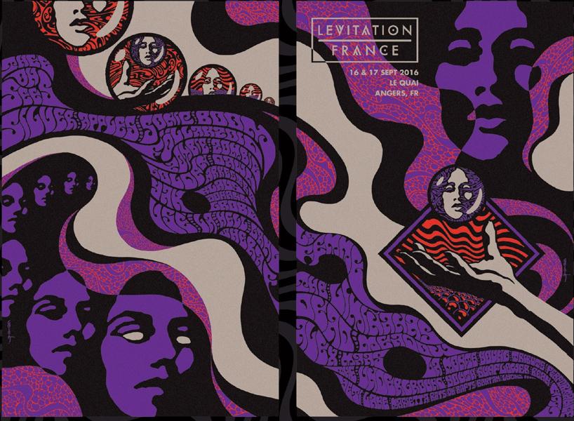 Robin Gnista art of rock silkscreen Rockposter Musikposter Siebdruck Ofset digital print