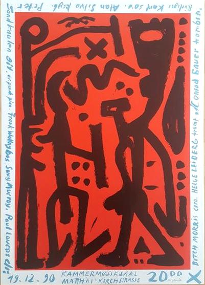A.R. Penck Siebdruck