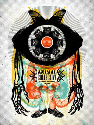 Aesthetic Apparatus  Michael Byzewski SIMIAN CYCLOPIAmusik art musik posters art of rock musikposter music designe