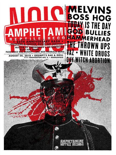 Aesthetic Apparatus 1 Michael Byzewski AMREP 23 musik art musik posters art of rock musikposter music designe