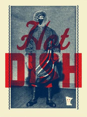 Aesthetic Apparatus  Michael Byzewski musik art musik posters art of rock musikposter music designe HOT DISH