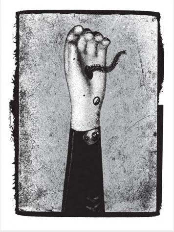 Aesthetic Apparatus Michael Byzewski RECONSTRUCT 003 musik art musik posters art of rock musikposter music designe