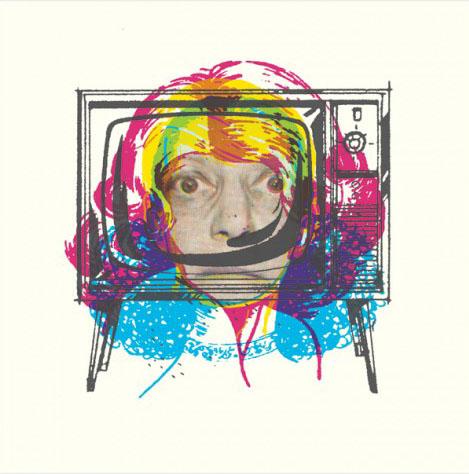 Aesthetic Apparatus Michael Byzewski TV EYES musik art musik posters art of rock musikposter music designe