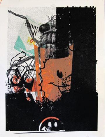 Aesthetic Apparatus Michael Byzewski Testprint 301 musik art musik posters art of rock musikposter music designe