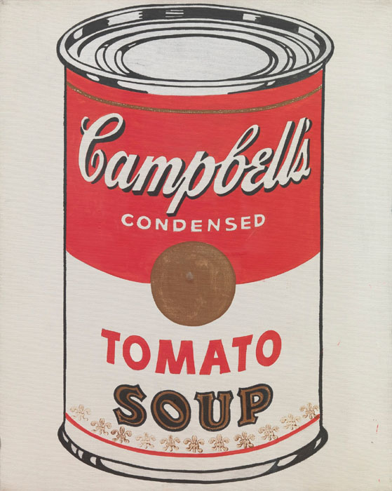 Andy Warhol contemporary art buy print soupcan campbells moma nyc lithography
