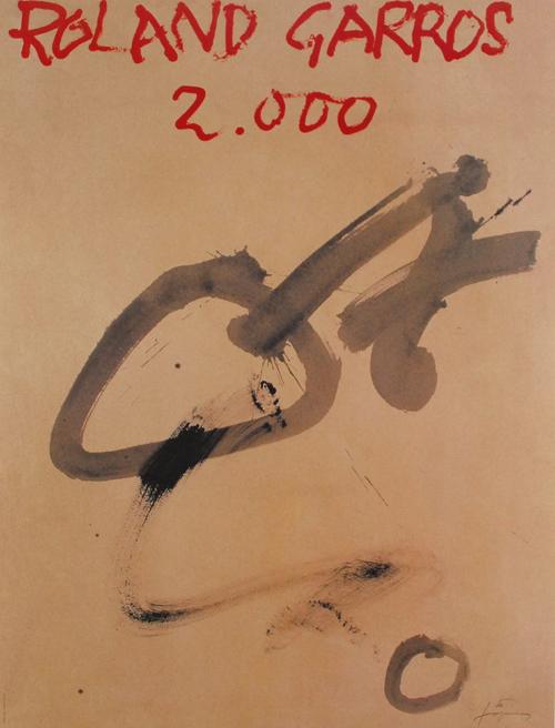 Antoni Tapies Farboffsetlithografie Lithografie poster