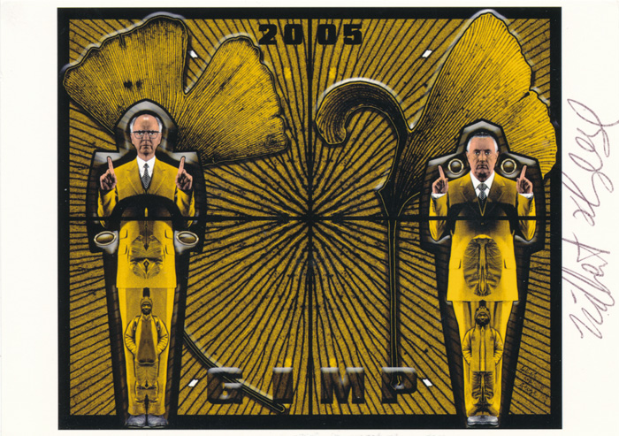 Gilbert & George contemporary art buy print siebdruck poster art Multiple Gimp