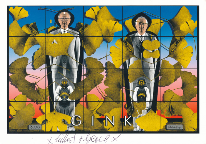 Gilbert & George contemporary art buy print siebdruck poster art Multiple Gink