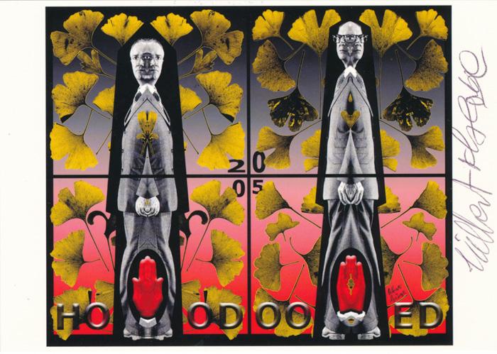Gilbert & George contemporary art buy print siebdruck poster art Multiple Hoodooed