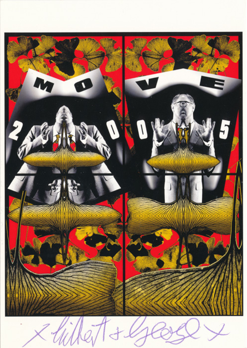 Gilbert & George contemporary art buy print siebdruck poster art Multiple Move