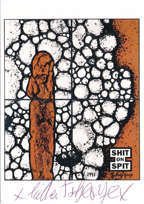 Gilbert & George contemporary art buy print siebdruck poster art Multiple Gink