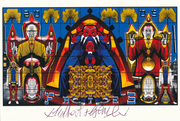 Gilbert & George signed