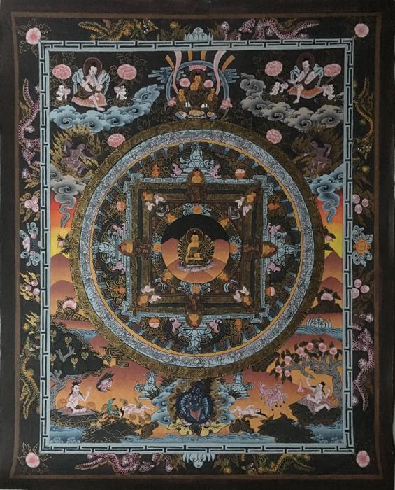 Thangka Wheel of Life Nepal