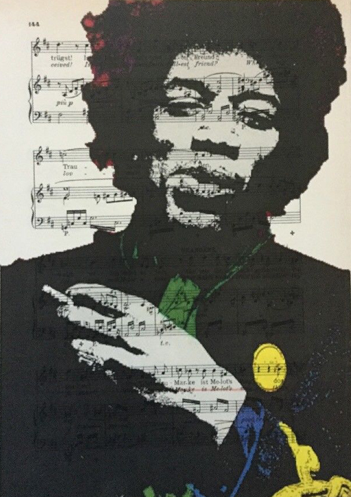 Jimmy Hendrix art