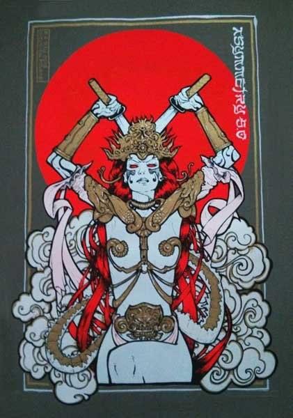 Malleus asymmetry 2013 silkscreen siebdruck concertposter poster prints art prints rock art dark nouvou