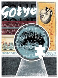 Pat Hamou  Gotye silkscreen siebdruck print poster