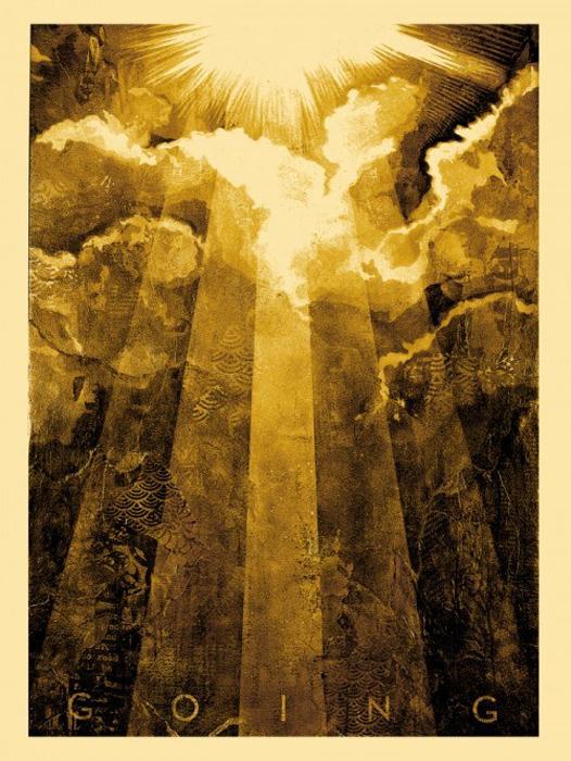 Shepard Fairey Obey silkscreen Siebdruck 2012 wayfarin stranger poster