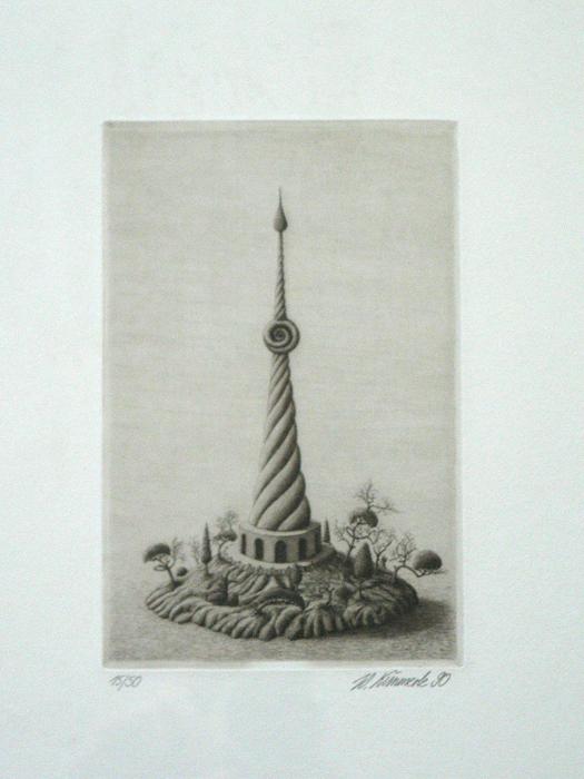 Werner Kimmerle Druckgrafik Radierung art buy art