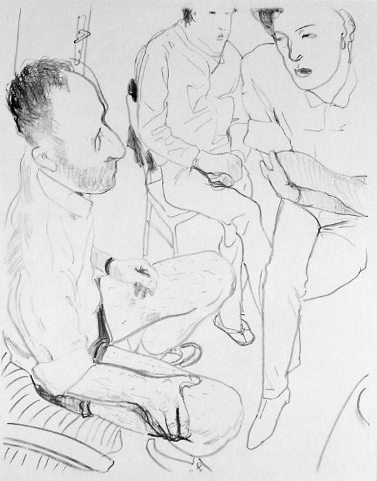 pauvre bobo mutter Kathedrale des Künstlers Lithografie Johannes Grützke Holzschnitt Radierung Schabradierung Offsetdruckt Druckgrafik Kaltnadelradierung