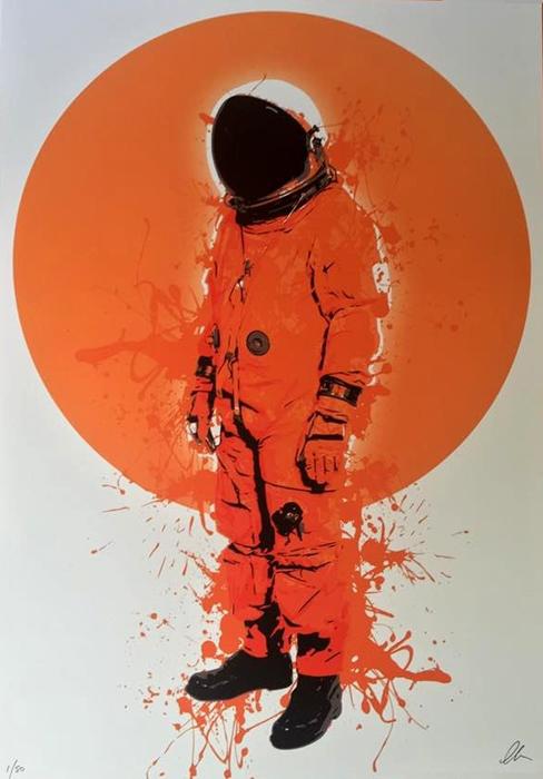 Chris Boyle, urban art gallery buy street art screenprint poster