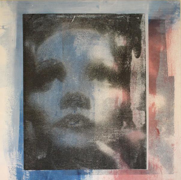 screenprint on canvas