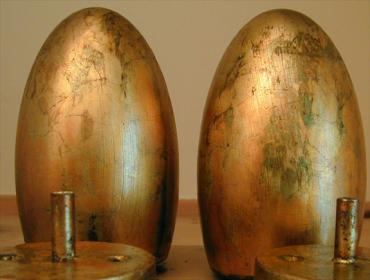Schlagmetallvergoldung gilding Vergoldung Blattvergoldung Blattgold Schlagmetall