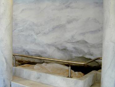 Malerbetrieb Frankfurt Oberflächengestaltung Steinimitation