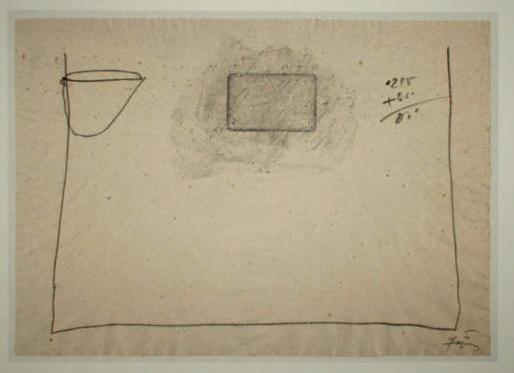 Antoni Tapies 2 Farboffsetlithografie Lithografie poster